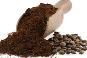 café moulu et en grains