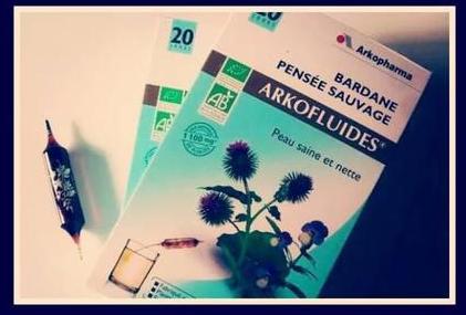 Arkofluides Bardane Pensée Sauvage Bio