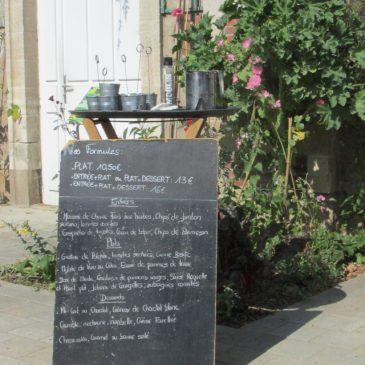 Le café de l'orangerie à Nantes