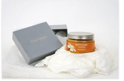 Crème de gommage pour le corps à la mangue – Maison Edouard
