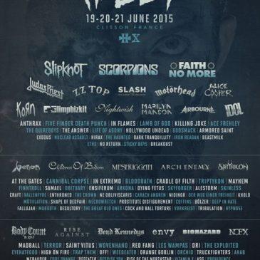 Hellfest J-7 : musique, look et swag aux toilettes