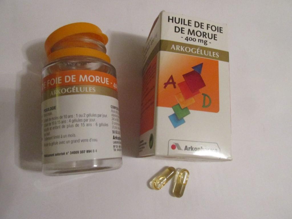 huile de foie de morue Arkopharma