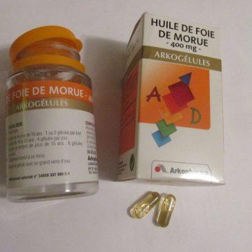 L'huile de foie de morue Arkopharma