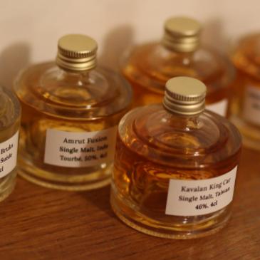 Private Whisky Society – le coffret de dégustation tour du monde des whiskies