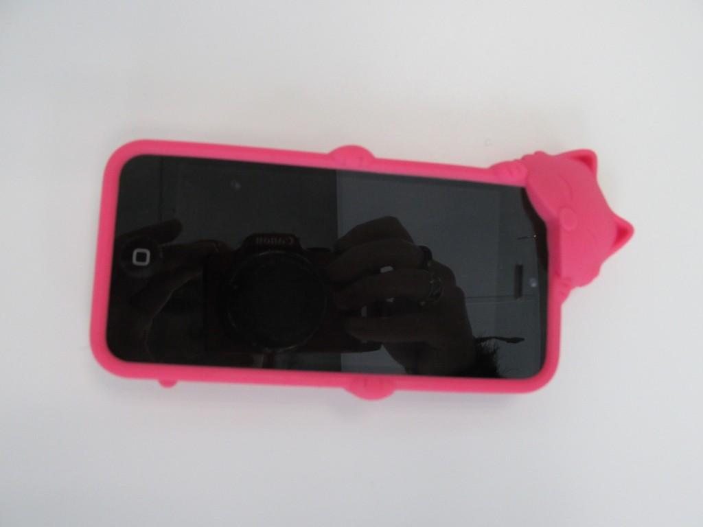 Coque I phone 5C rose Née jolie