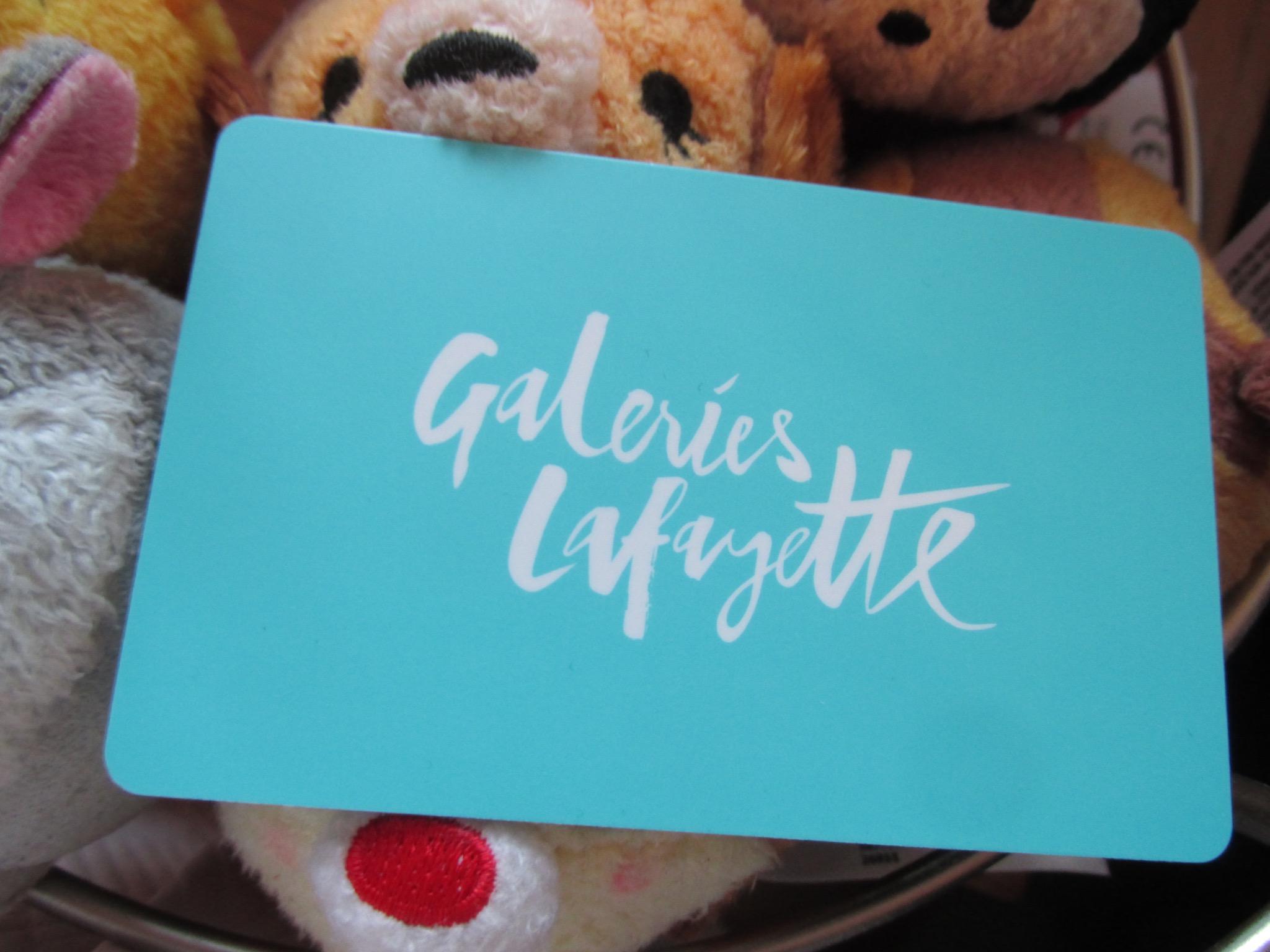 blog mode nantes galeries lafayette carte cadeau cent - Galeries Lafayette Liste De Mariage Faire Un Cadeau