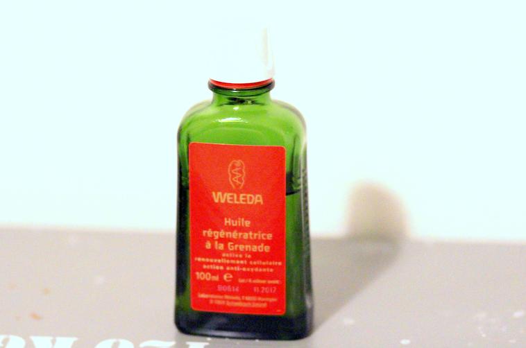 blog beaute nantes weleda huile grenade bio