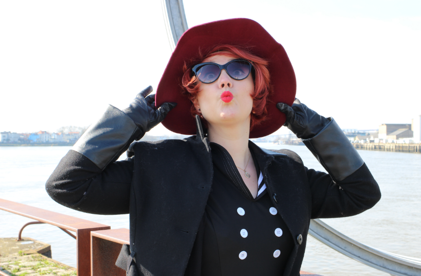 blog mode nantes chapeau rouge ddp woman