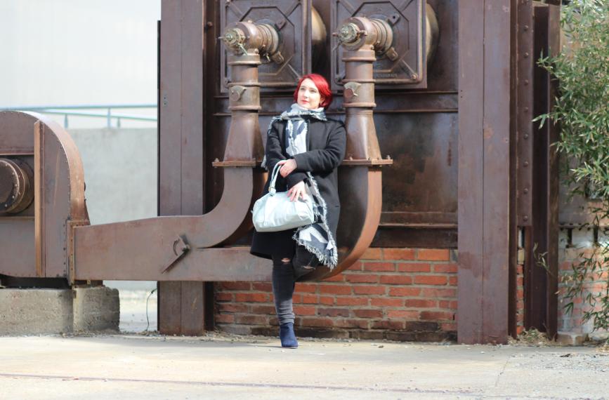 blog mode nantes manteau noir sans col uniqlo