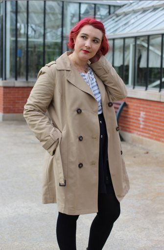 blog mode nantes trench sable new look