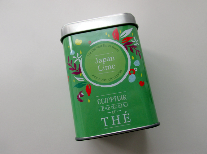 japan lime comptoir du the francais