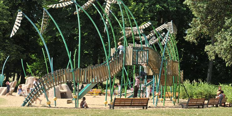 jeux enfants parc grand blottereau