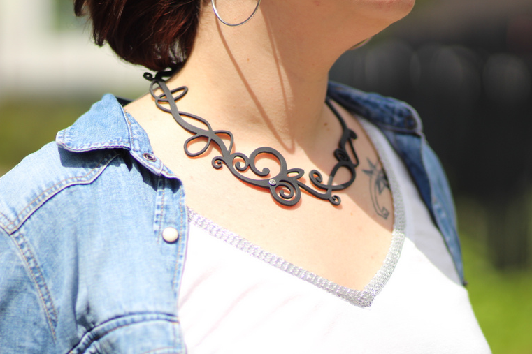 look gap et collier ladygum