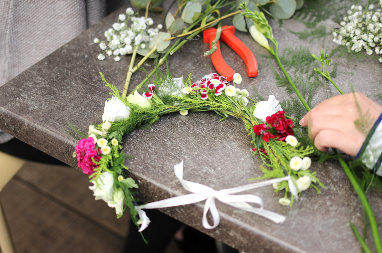 weleda bioty tour nantes 2016 art floral