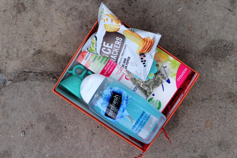 my sweetie box contenu juin 2016 festival