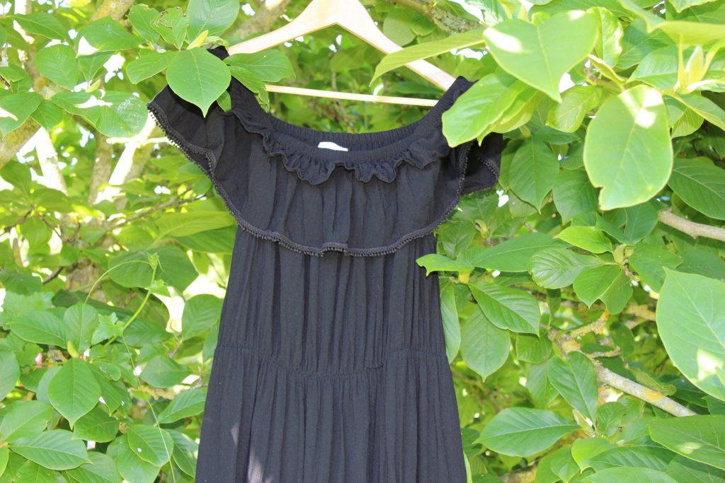 blog mode nantes robe noire follow me