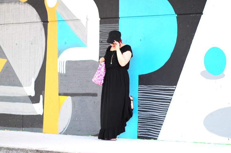 blog mode nantes robe longue noire follow me gemo