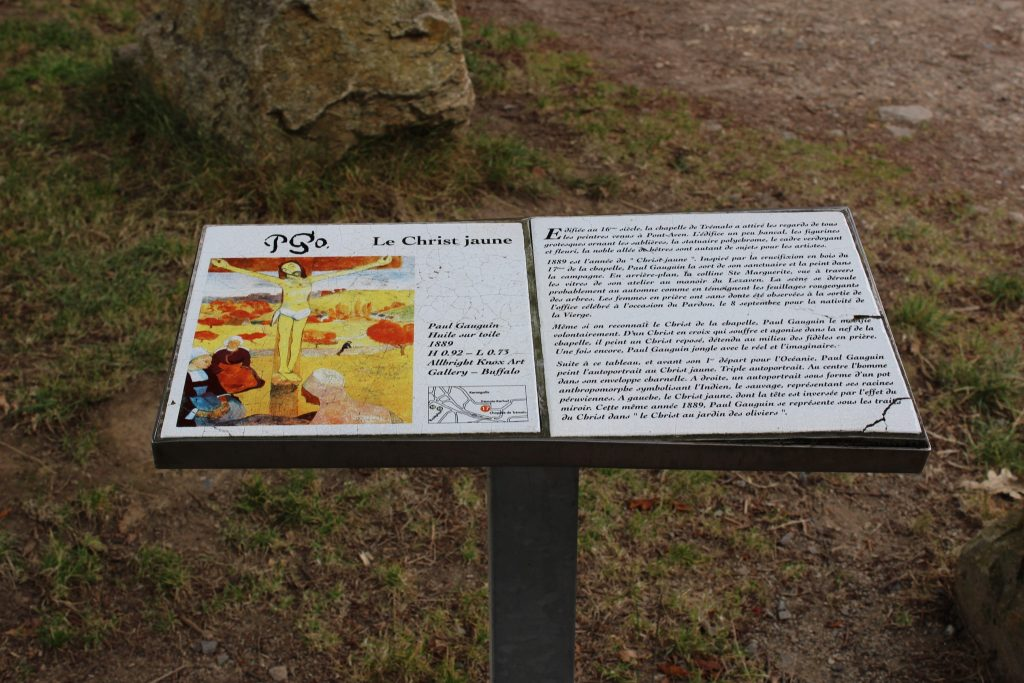 christ jaune explication pont aven gauguin