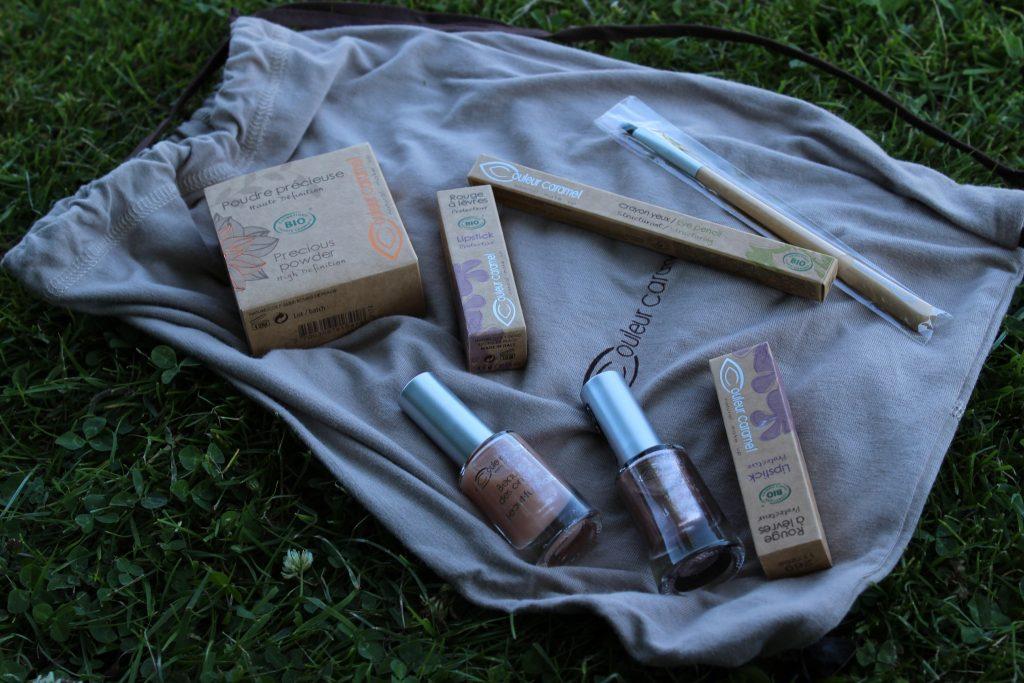 contenu box maquillage couleur caramel edition double je
