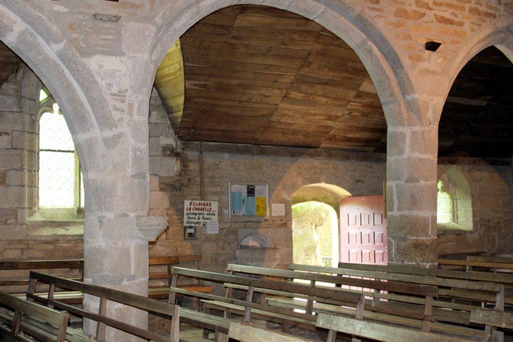 interieur chapelle tremalo