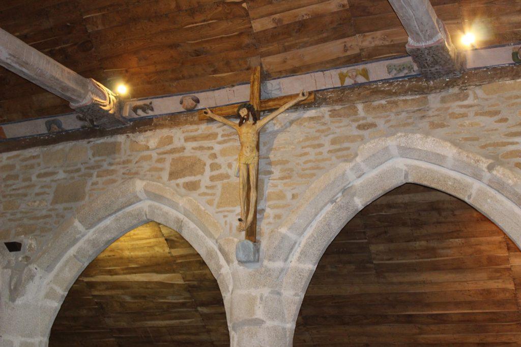 le christ jaune chapelle de tremalo pont aven finistere gauguin
