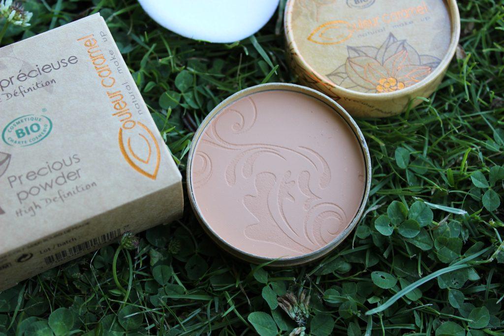 poudre couleur caramel blog beaute nantes