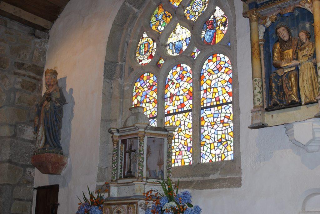 vitraux eglise de tremalo pont aven