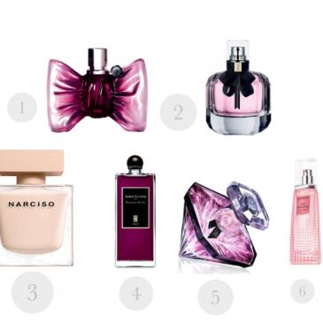 Sélection de parfums roses pour la rentrée 2016