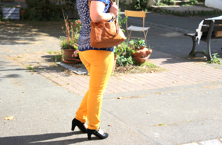 blog mode nantes jean 7 8 jaune breal