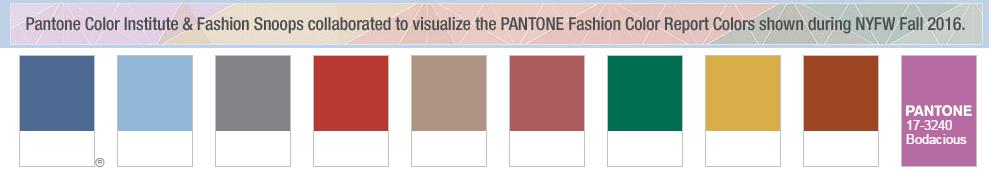 couleurs pantone hiver 2016