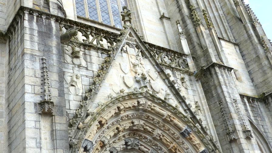 detail catedrale nantes