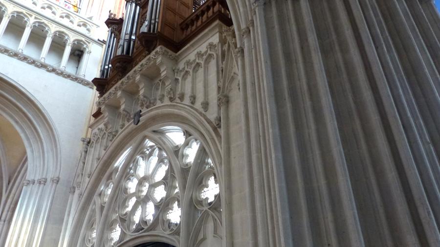 detail cathedrale quimper rosace
