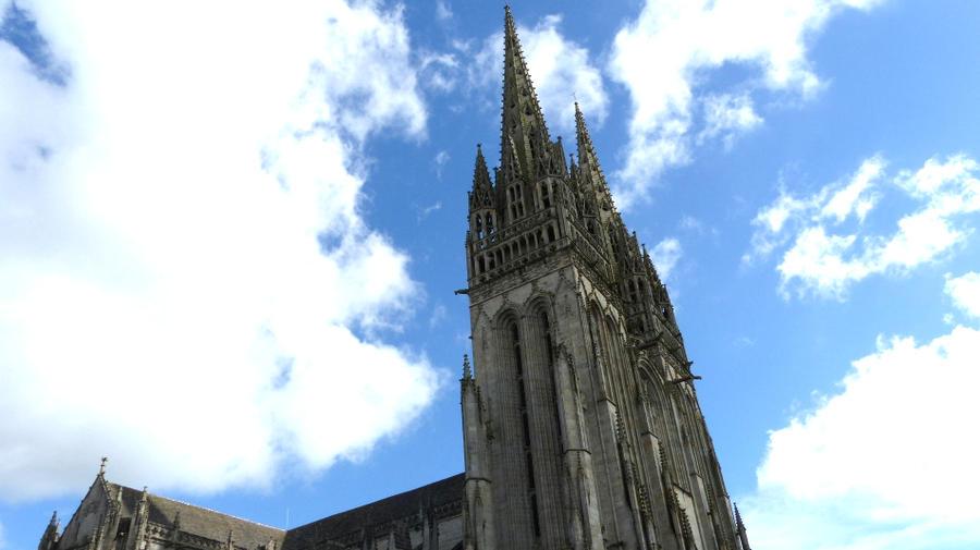 fleches cathedrale Quimper