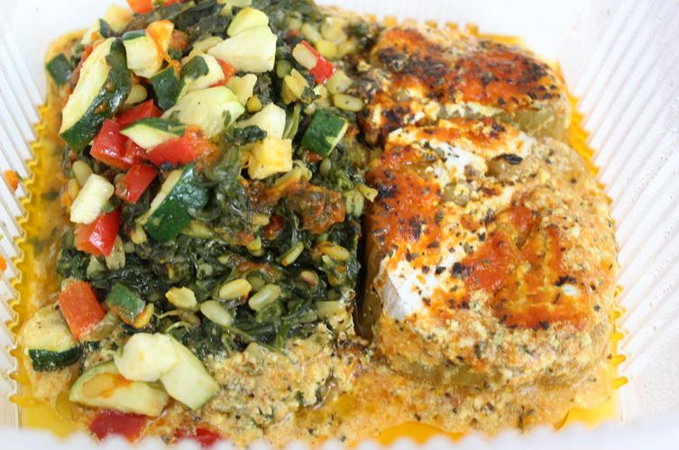 assiette vegetarienne ariana nantes