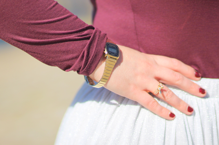 blog mode nantes jupe brillante zara princesse
