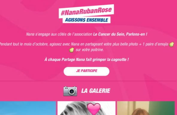 nana ruban rose