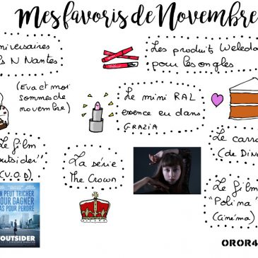 La selection d'Oror404 – Mes favoris de Novembre