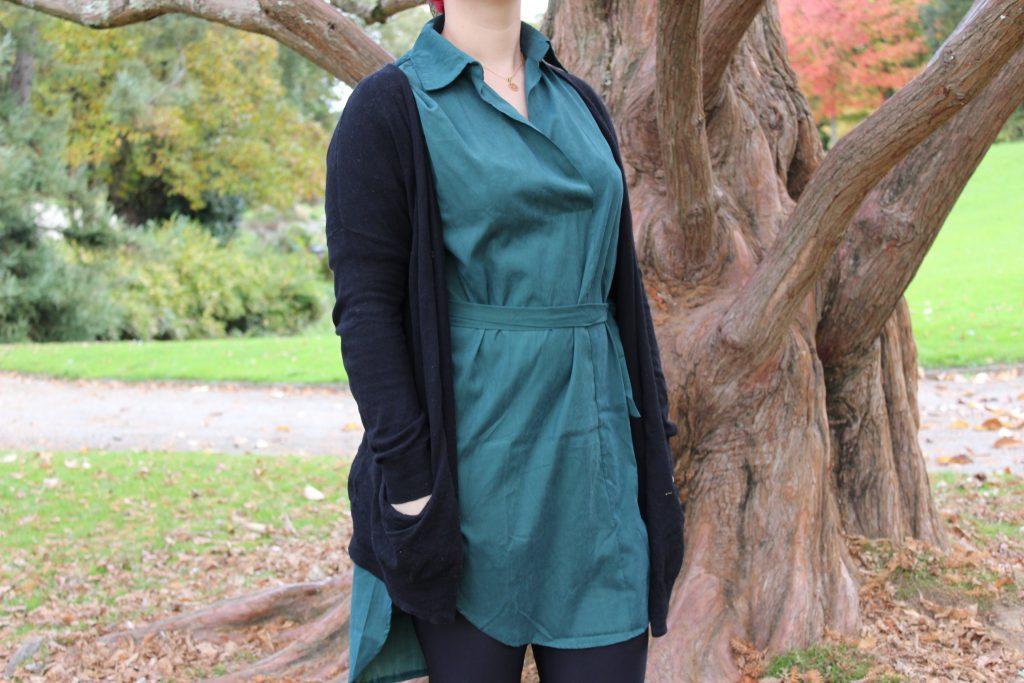 blog-mode-nantes-detail-robe-chemise-verte-sheinside