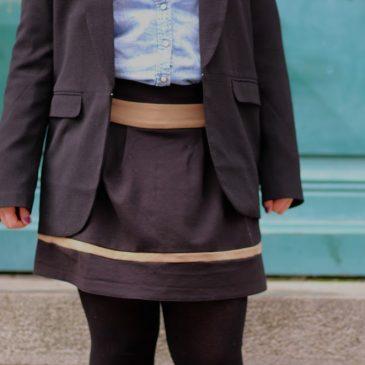 Look mode : La petite jupe à deux balles