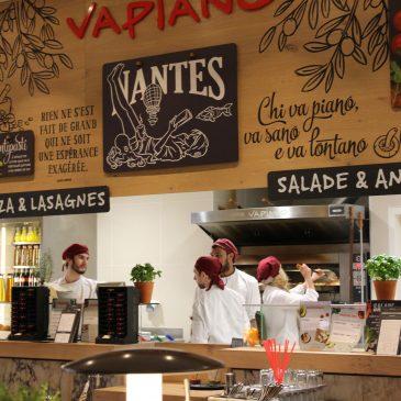 Le restaurant Vapiano à Atlantis