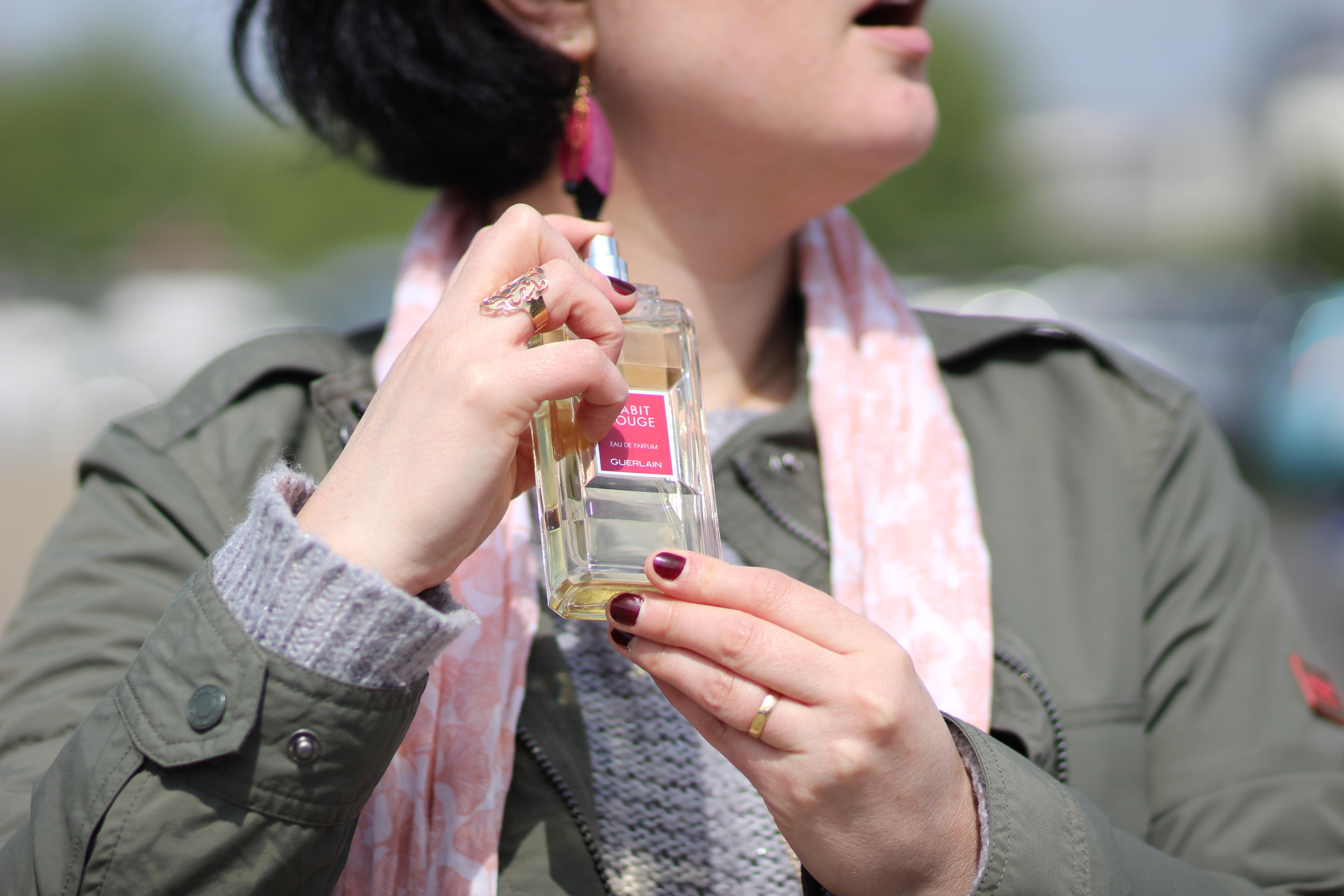 Blog Mode Nantes Avis Origines Parfums Habit Rouge Guerlain