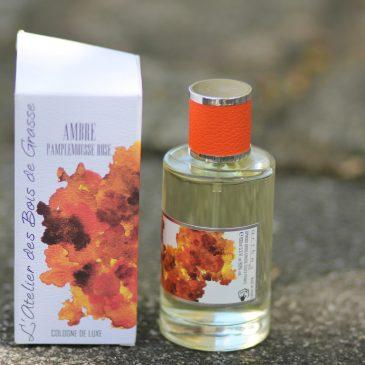 Ambre Pamplemousse Rose – L'Atelier des Bois de Grasse parfum mixte