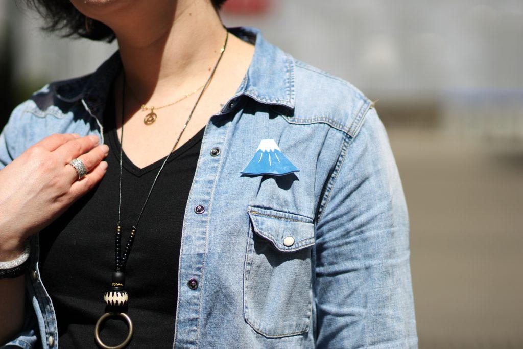 blog-mode-nantes-chemise-jean-h-m-badge-mont-fugi