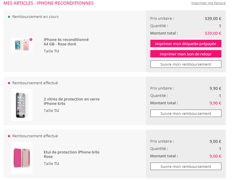 Iphone Reconditionne Showroomprive