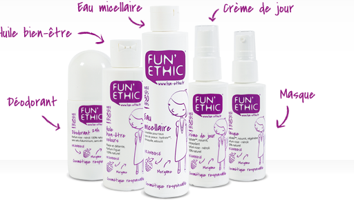 Fun'Ethic : des cosmetiques chics chics chics !
