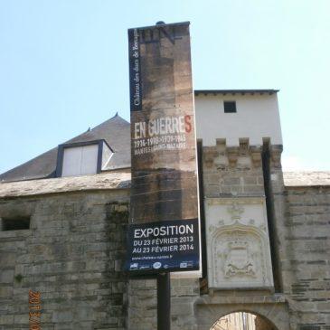 Exposition : Les 2 guerres à Nantes …. au Château des ducs