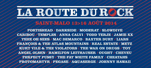 La Route du Rock 2014 collection été