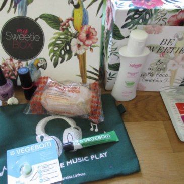 My Sweetie Box -Juin 2015- Sound of beauty