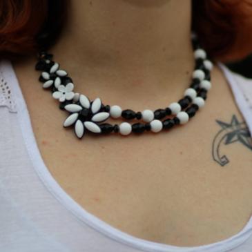 Le collier Misty de l'atelier de Montsalvy