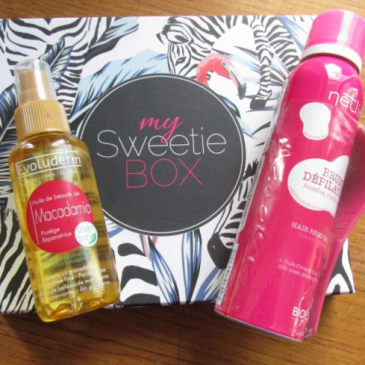 MySweetieBox Urban jungle septembre 2015